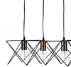 Hailes 5 Light Bar Pendant Black And Copper - ID 9378
