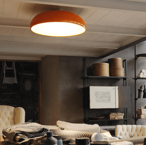 Fontana Arte Pangen Flush Ceiling - London Lighting - 1