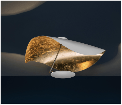 Curving LED Semi-Flush Colour Options - ID 6042