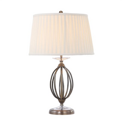 Knot Twist Table Lamp In Aged Brass - ID 9389