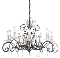 Amarilli 10 Arm Chandelier - London Lighting - 1