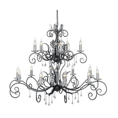 Amarilli 15 Arm Chandelier - London Lighting - 1