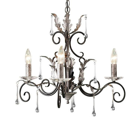 Amarilli 3 Arm Chandelier - London Lighting - 2