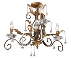 Amarilli 3 Arm Chandelier - London Lighting - 1