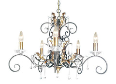 Amarilli 5 Arm Chandelier - London Lighting - 1