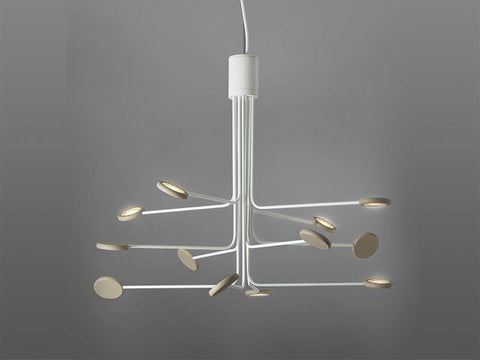 Icone Arbor 12 Arm Suspended Ceiling Light - London Lighting - 1