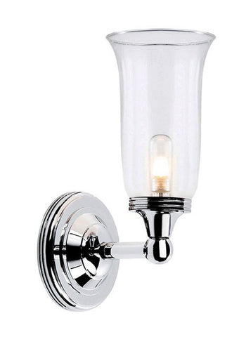 Austen2 Bathroom Wall Light in Polished Chrome - London Lighting - 1