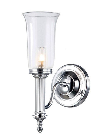 Bathroom Carroll2 Polished Chrome - London Lighting - 1