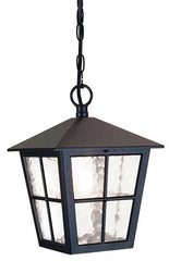 Canterbury Exterior Chain Lantern - London Lighting - 1