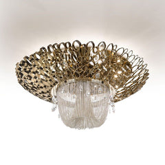Chrysalis Flush Ceiling Lamp
