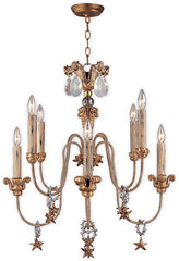 Mignon 8 Lamp Chandelier - London Lighting - 1