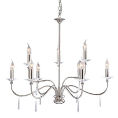 Finsbury Park 9 Arm Chandelier - London Lighting - 2