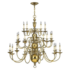 Hinkley Cambridge 25 Light Chandelier - London Lighting - 1