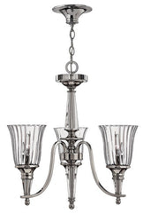 CHANDON - 3 Lamp Chandelier - London Lighting - 1