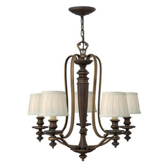 Hinkley Dunhill 5 Light Chandelier - London Lighting - 1