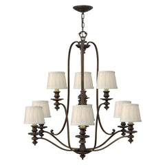 Hinkley Dunhill 9 Light Chandelier - London Lighting - 1