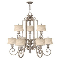 Hinkley Kingsley 9 Light Chandelier - London Lighting - 1