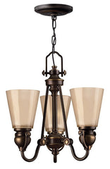 MAYFLOWER - 3 Lamp Chandelier - London Lighting - 1