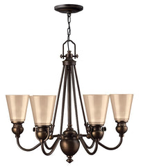 MAYFLOWER - 6 Lamp Chandelier - London Lighting - 1