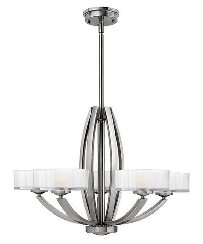 MERIDIAN - 5 Lamp Chandelier - London Lighting - 1