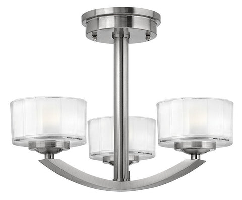 MERIDIAN - Semi-Flush - London Lighting - 1