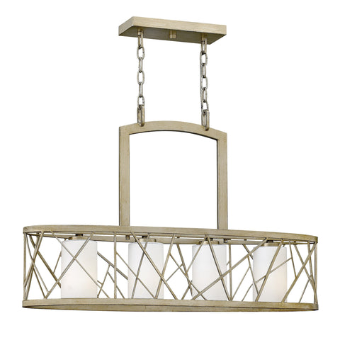 Hinkley Nest 4 Light Island Chandelier - London Lighting - 1
