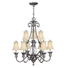 Hinkley Plantation 10 Light Chandelier - London Lighting - 1