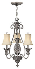 PLANTATION (PL) -  3+1 Lamp Chandelier - London Lighting - 1