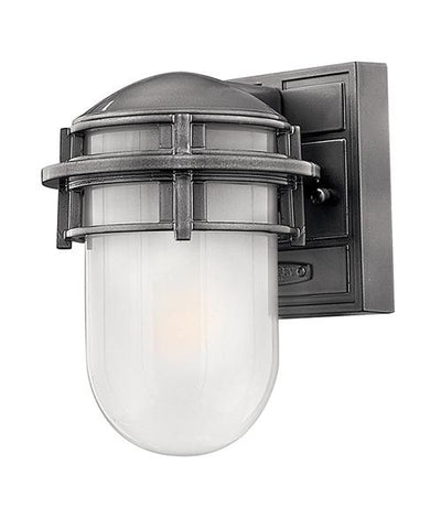 Dagenham Brushed Steel Mini Exterior Lantern - ID 7340