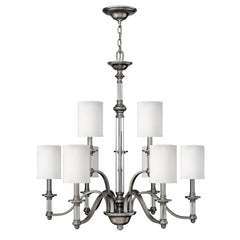 Hinkley Sussex 9 Light Chandelier - London Lighting - 1