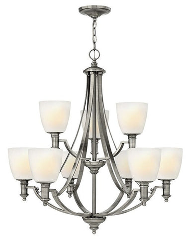 Truman 9 Lamp Chandelier - London Lighting - 1