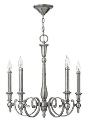 Yorktown 5 Lamp Chandelier - London Lighting - 1