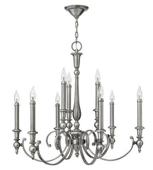 Yorktown 9 Lamp Chandelier - London Lighting - 1