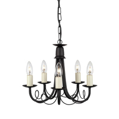 Minster 5 Arm Chandelier - London Lighting - 2