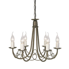 Minster 6 Arm Chandelier - London Lighting - 2