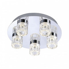LED Bubble Detail Ceiling Light