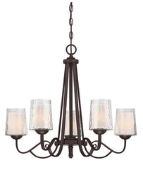Adonis 5 Lamp Chandelier - London Lighting - 1