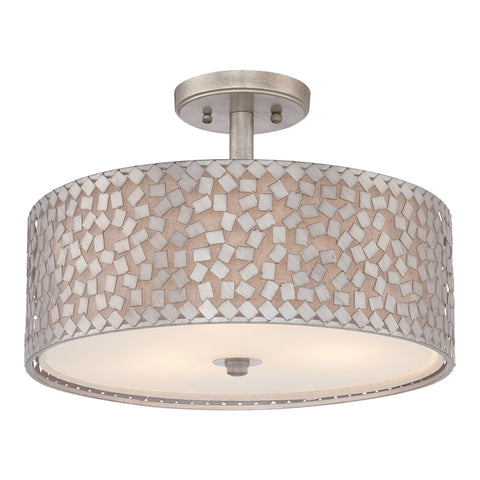 Quoizel Confetti 3 Light Semi-Flush Light - London Lighting - 1