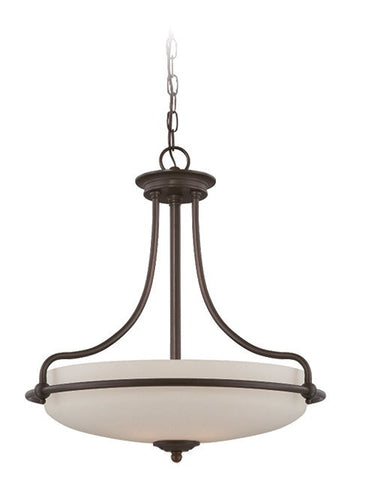 Griffin Pendant Light Bronze - London Lighting - 1