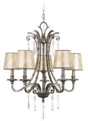 Kendra 5 Lamp Chandelier - London Lighting - 1