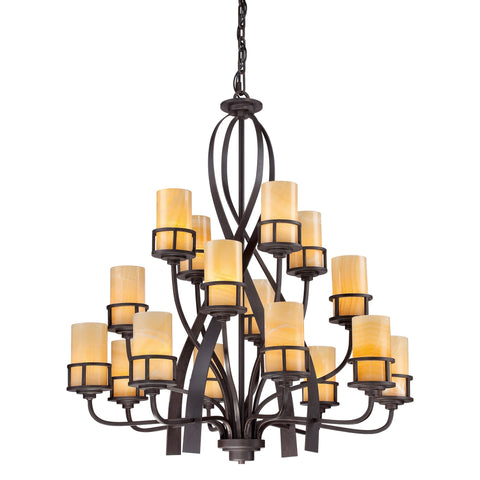 Quoizel Kyle 16 Light Chandelier - London Lighting - 1