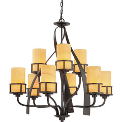 Quoizel Kyle 9 Light Chandelier - London Lighting - 1