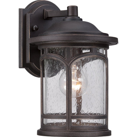 Marblehead One Light Palladian Bronze Small Wall Lantern