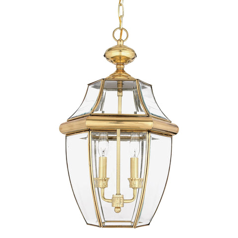 Quoizel Newbury Large Chain Lantern - London Lighting - 1