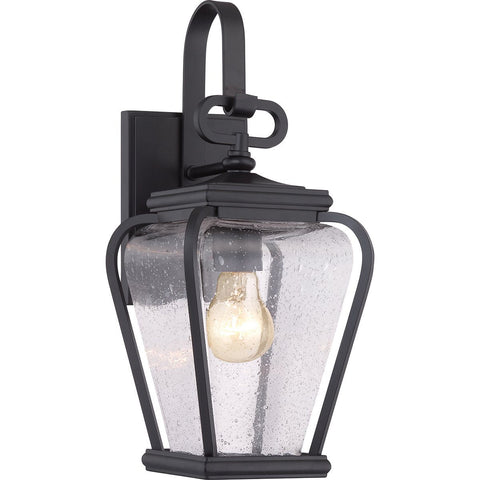 Province One Light Mystic Black Small Wall Lantern