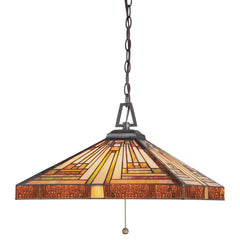 Quoizel Stephen 3 Light Pendant - London Lighting - 1