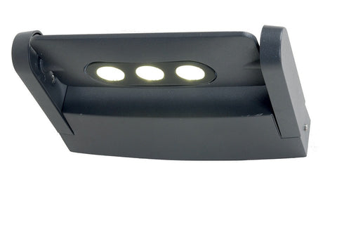 Lutec Ledspot 3W Outdoor Wall Light - London Lighting - 1
