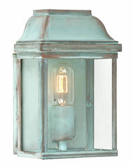 Victoria Wall Lantern Verdigris - London Lighting - 1