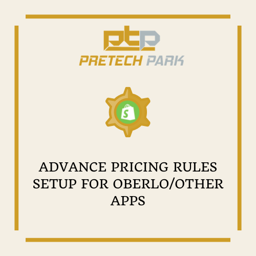ADVANCE PRICING RULES SETUP FOR OBERLO/OTHER APPS