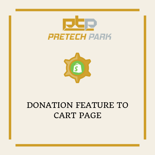 DONATION FEATURE TO CART PAGE